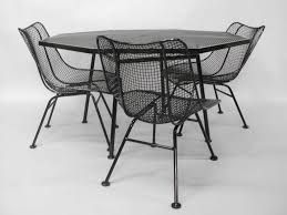 wrought iron vintage patio furniture. Used Vintage Wrought Iron Patio Furniture B65d On Wonderful Home Decoration Idea With