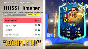 HOW TO COMPLETE TOTSSF RAUL JIMENEZ QUICKLY! - FIFA 20 ULTIMATE TEAM -  YouTube