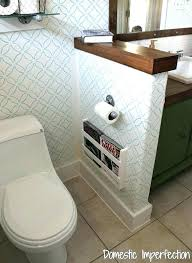 Wall Magazine Holder Bathroom