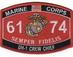 Marine Corps 1371 Combat Engineer Mos Semper Fidelis Patch