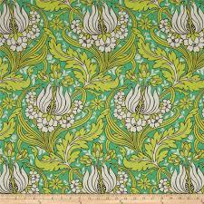 Amy Butler Home Decor Fabric Amy Butler Temple Home Decor Sateen Tulips Emerald Discount