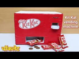 How To Make A Chocolate Vending Machine Magnificent How To Make Kit Kat Chocolate Vending Machine 48 Simple Life