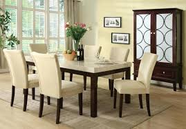 marble top dining table round dining tables granite dining table set flooding the room with elegance round stone white in six