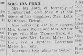 Ida Ford obit - Newspapers.com