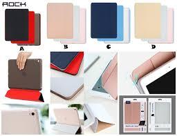 ipad pro 9 7 12 9 rock phantom smart flip stand leather case cover