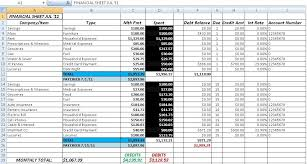 Accounts Receivable Templates Excel Accounts Payable And Receivable Template Excel