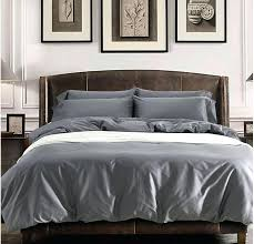 grey king size quilt cover solid grey egyptian cotton sheets bedding sets king queen size quilt