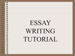 essay writing tutorial table of contents unit i essay review  1 essay writing tutorial