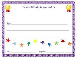 Award Blank Blank Award Certificate Blank Certificate Template Blank
