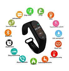 SBA999 ABM403 <b>M4 Bluetooth</b> Wireless <b>Smart</b> Fitness Band for ...
