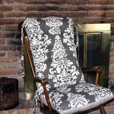 custom berlin linen rocking chair cushions glider replacement pads rocker cushions wooden rocking