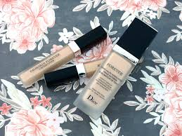 dior diorskin forever perfect foundation forever undercover concealer review and swatches