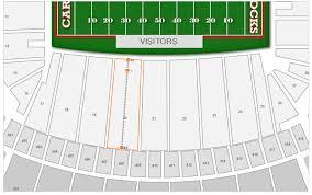 Williams Brice Stadium Seating Chart By Rows William Brice