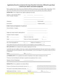 Equipment Loan Agreement Template Free Fresh Student Agreement ...