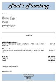 An Example Of An Invoice Invoicing Software Example Invoice Example Quote Example 44
