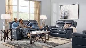 Navy Blue Gray White Living Room Furniture Decor Ideas Impressive Navy Blue Living Room
