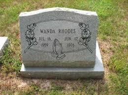 RHODES, WANDA - Monroe County, Arkansas | WANDA RHODES - Arkansas  Gravestone Photos