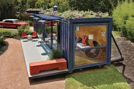 Comes with a cute rooftop garden as well! Shipping Container Guest House