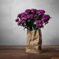 Creative decorative accessories, unusual vase for modern interior  decorating with flowers