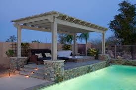patio covers tropical swimming pool