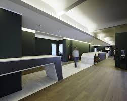 Contemporary Office Lighting Interior Design Hallway With Wood Flooring  Lighting Is No Exception And Here Is