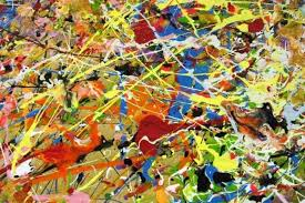 where is action painting today the heritage of jackson pollock  jackson pollock detail
