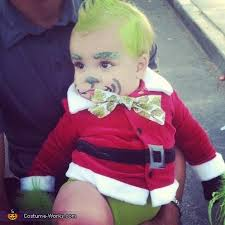 the grinch baby costume. Perfect The Paxton As Baby Gring Baby Grinch And Cindy Lou Who Costumes Throughout The Costume C