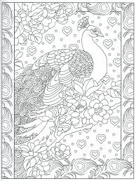 Peacock Feather Coloring Pages Colouring Adult