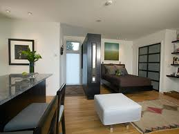 Bedroom At Modern Studio in Rhode Island by Architect Native