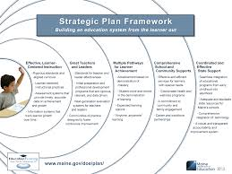 strategic planning frameworks maine doe education evolving strategic plan framework