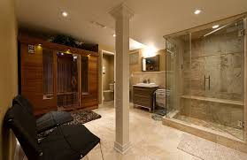 basement spa. Basement Home Spa Transitional-basement S