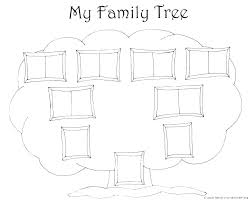 Printable Blank Family Tree Chart Download Family Tree Template