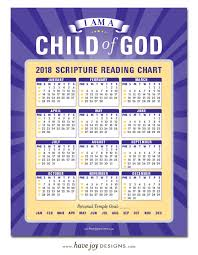 2018 Scripture Reading Chart The Crafting Chicks
