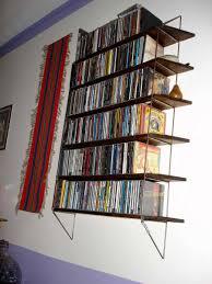 bookcase glamorous wall mounted cd storage 5 rack1 wall mounted cd storage ideas