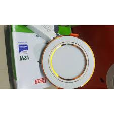Đèn led âm trần downlight 7w 3 màu Rạng đông mã AT10L 90/7W, 110/9W,  110/12W giá cạnh tranh