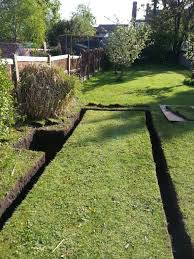 garden drainage. Off The Shelf Garden Drainage Systems Are Unlikely To Solve Your Problem E