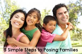 Simple Family 5 Simple Steps To Posing Families Backdrop Express Photography Blog