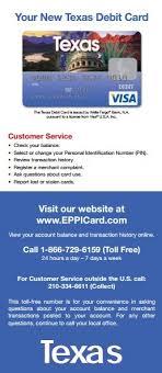 eppicard tx texas customer service
