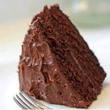 chocolate fudge cake slice. Simple Chocolate Chocolate Fudge Cake In Slice Times Food  Of India