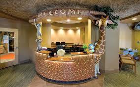 custom reception desk jungle safari themed desk custom reception desk calgary custom reception desk