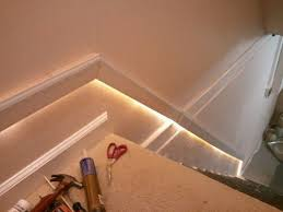 stair lighting good idea for basement stairs id like to do this outside basement stairwell lighting