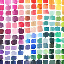 Diy Paint Color Chart Diy Rainbow Color Theory Mixing Chart Made By Watercolor Artist