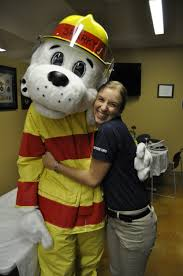 sparky the fire dog. sparky the fire dog visits 152nd airlift wing to spread safety awareness h
