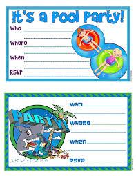 free printable blank pool party invitations. Perfect Party Free Online Pool Party Invitations With Printable Blank P