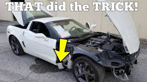 this is why the salvage corvette won t start easy 100 fix