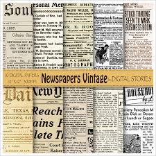 Vintage Newspaper Template Free Sample Old Newspaper Template 11 Documents In Pdf Psd Word