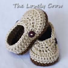 Crochet Baby Boy Booties Free Pattern