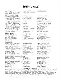 Examples Special Skills For Acting Resume Of Resumes Theatre
