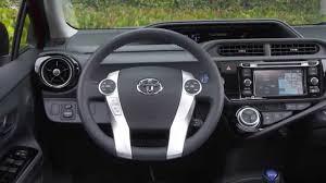2016 Toyota Prius c Interior Design | AutoMotoTV - YouTube