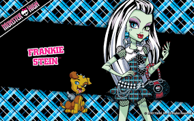 monster high wallpaper containing a chainlink fence called frankie stein wallpaper 1280x800